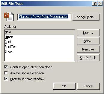 Edit File Type