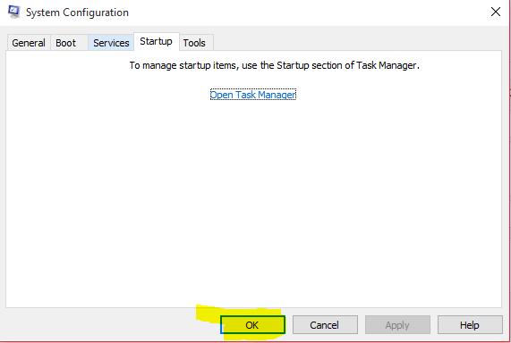 task manager kapatma