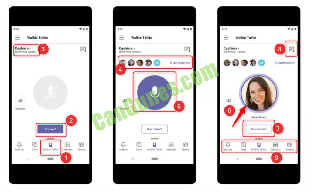 Walkie Talkie Android iOS