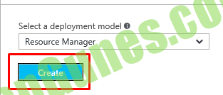 Select a deployment model O  Resource Manager