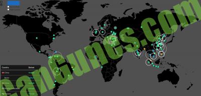 Malware Tracker Maps