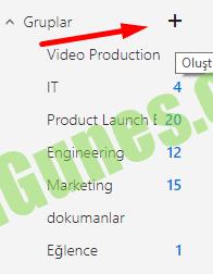 Office 365 Grup oluşturma